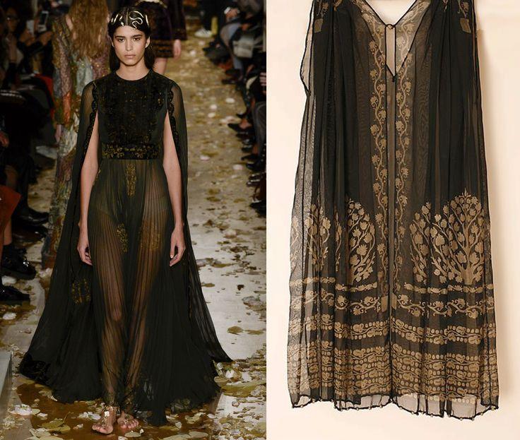 Maria Grazia Chiuri e Pierpaolo Piccioli hanno presentato per la Haute Couture dell'estate 2016 di Valentino una collezione ispirata a Mariano Fortuny