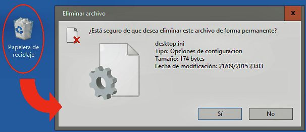 Papelera de Reciclaje de Windows