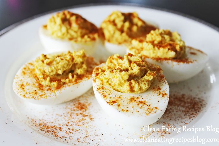 Clean Eating Recipe – Curry Deviled Eggs | Clean Eating Recipes - Clean Eating Diet Plan Made Easy