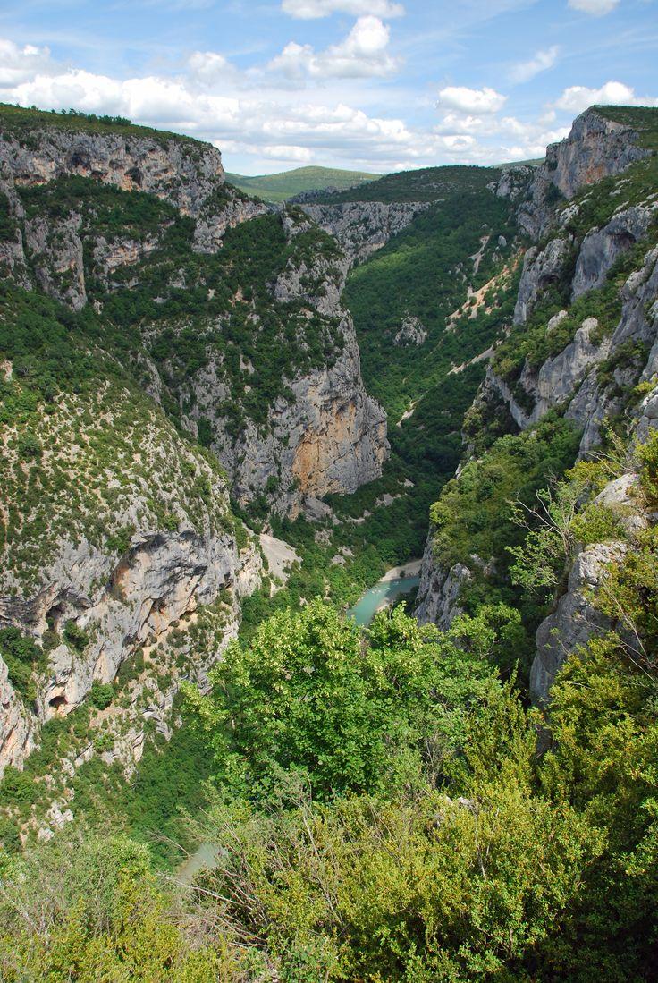 Gorges du Verdon, France by Daantjesheart