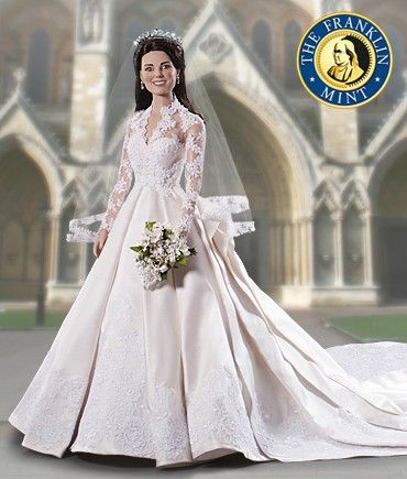 Image detail for -The Kate Middleton Royal Wedding Doll Is Here!