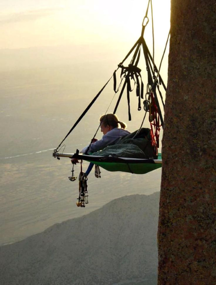 This Hammock for Thrillseekers…