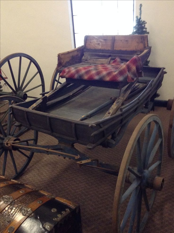 General Henry Knox's favorite conveyance.