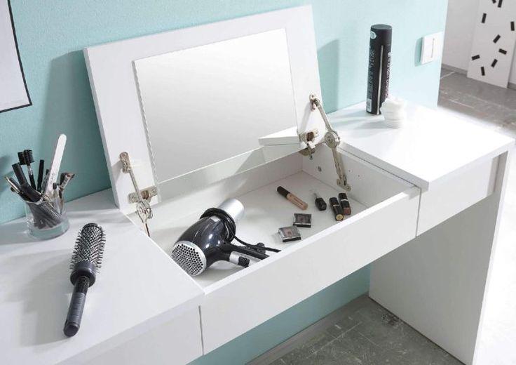 les 25 meilleures id es de la cat gorie coiffeuse meuble sur pinterest coiffeuse ikea. Black Bedroom Furniture Sets. Home Design Ideas