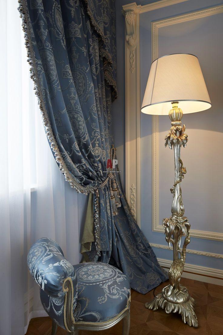 Фото интерьера спальни квартиры в стиле классика
