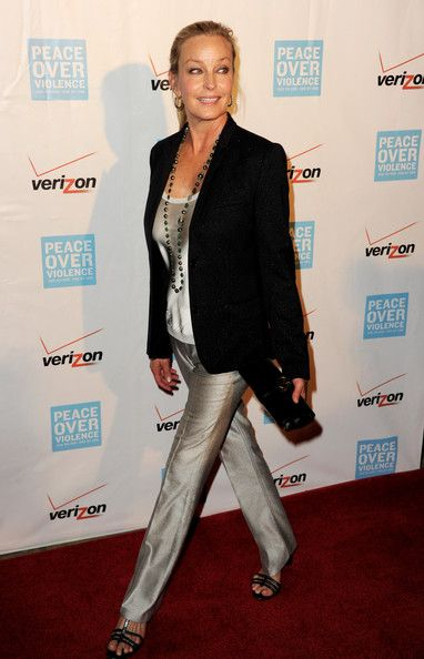 Bo Derek Photos - Actress Bo Derek arrives at the 41st Annual Peace Over Violence Humanitarian Awards at the Beverly Hills Hotel on October 26, 2012 in Beverly Hills, California. - 41st Annual Peace Over Violence Humanitarian Awards - Arrivals