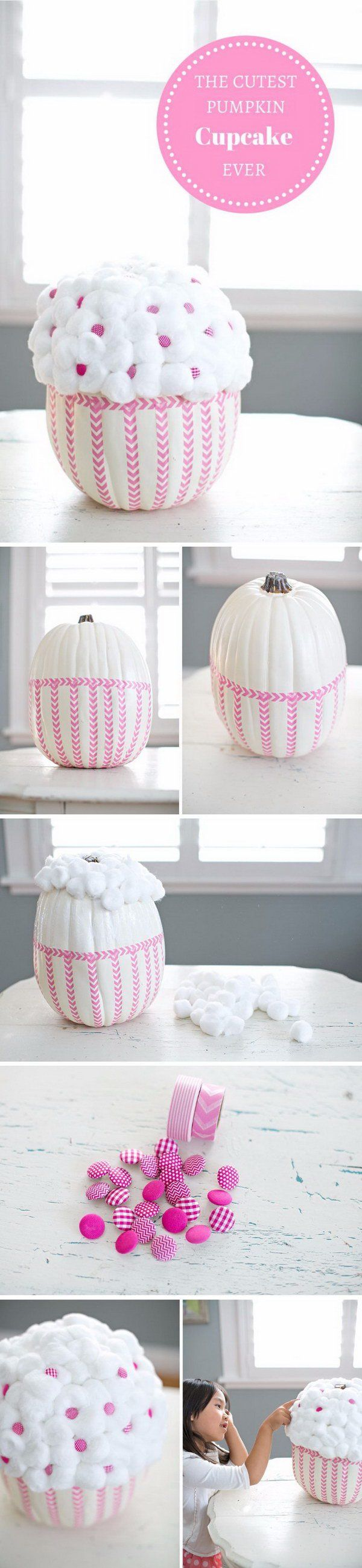 40+ Cool No-Carve Pumpkin Decorating Ideas