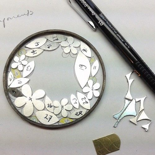 diana greenwood jewellery-brooch in silver and gold