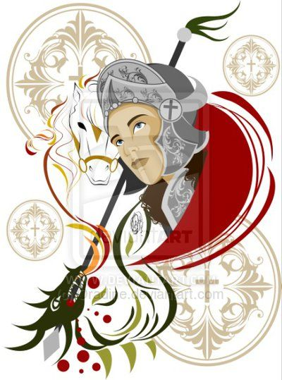 Meu grande protetor, Salve São Jorge !!!! ❤