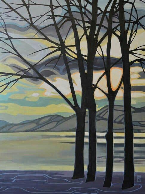 Erica Hawkes Lloyd Gallery Penticton