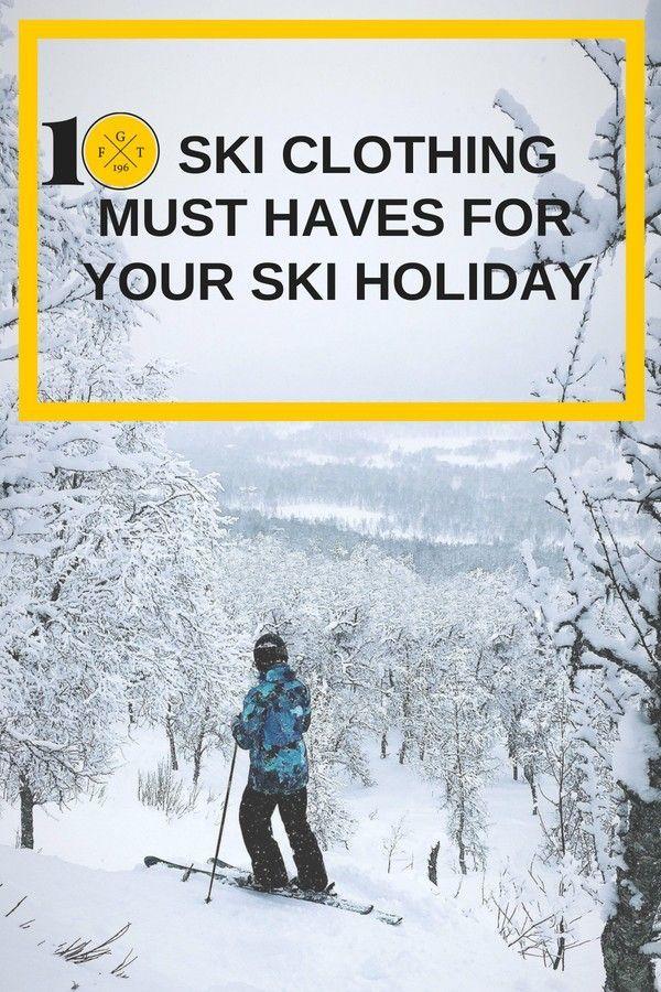 bcf69954d3 10 Ski Gear Essentials for Beginner Skiers in 2018