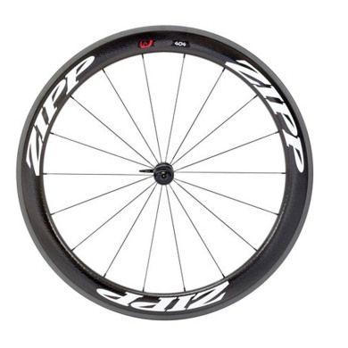 Zipp 404 Firecrest Carbon Clincher Front Wheel - 2014