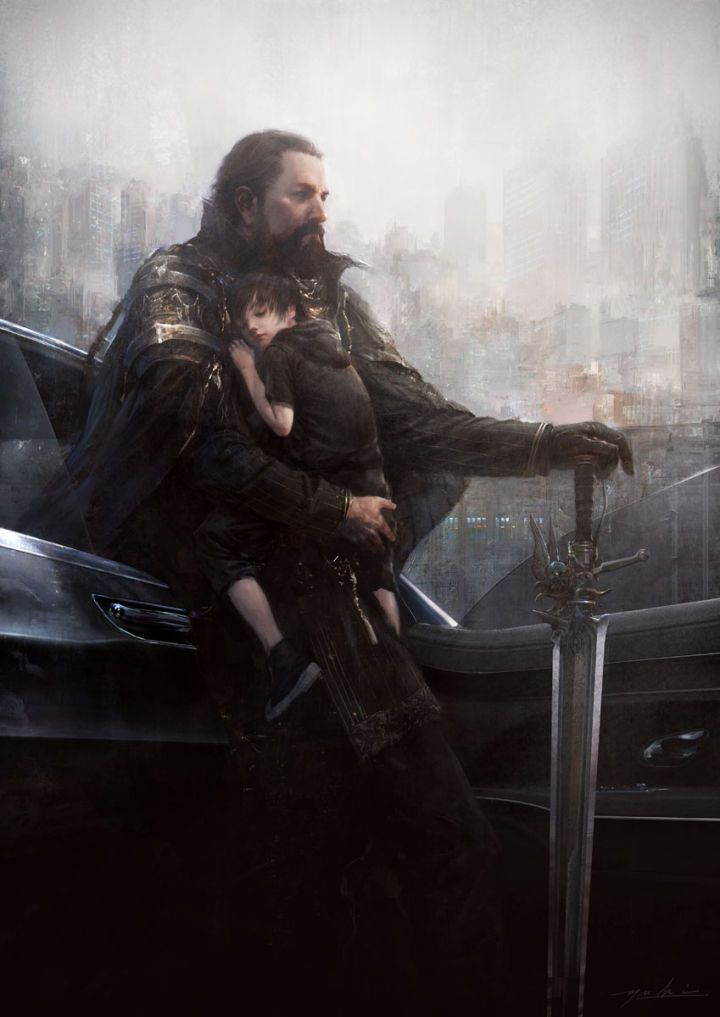 """Final Fantasy XV"" art/""Final Fantasy XV - Dawn"" trailer"