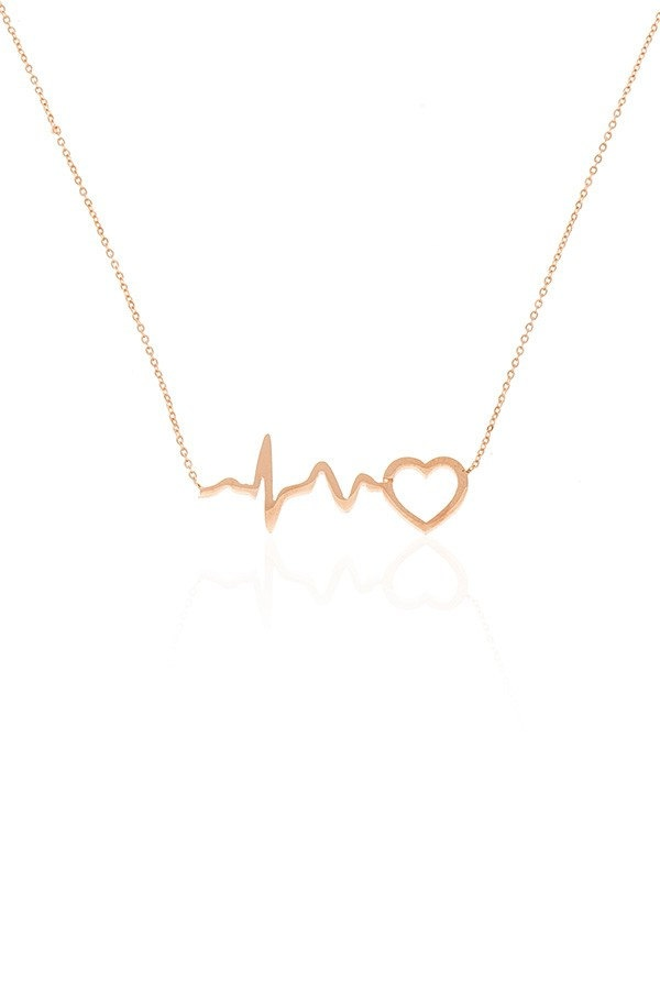 Etsy heart beat necklace. I love this!!!