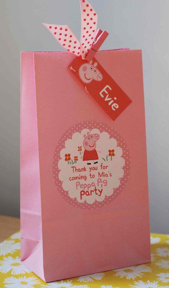 Personalizado infantil PEPPA Pig GEORGE Pig por OrangePaperDuck