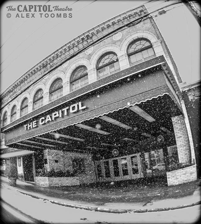 snowy day at port chester new york 39 s live music palace the capitol theatre music is life. Black Bedroom Furniture Sets. Home Design Ideas