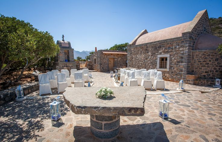 The Hidden Chapel in Crete - a perfect wedding venue with stunning sea views.