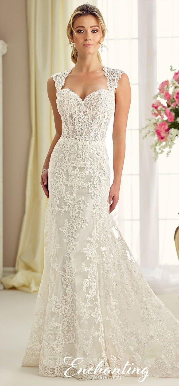 424 best Fit & Flare Wedding Dresses images on Pinterest | Short ...