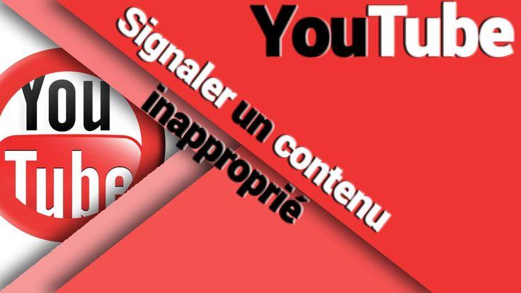 Vous avez regardé une vidéo et le contenu vous semble inapproprié pour YouTube ? Alors signalez la ! Vous ne savez pas comment faire ? Suivez le guide ;)