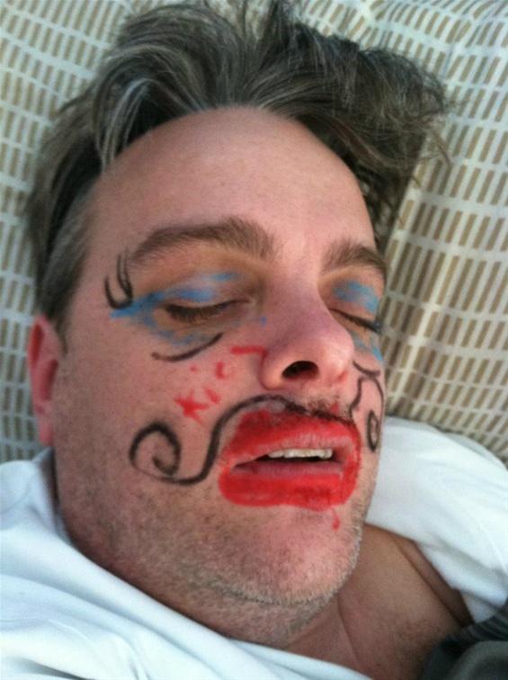 sleepover prank