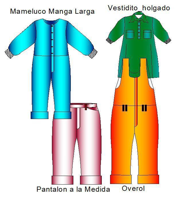Completa Coleccion de Moldes para Fabricar Ropita de Bebe Esta Coleccion incluye los moldes de 11 prendas de bebes de 62 a 98 centimetros de estatura que normalmente corresponde a bebes de hasta 1 …