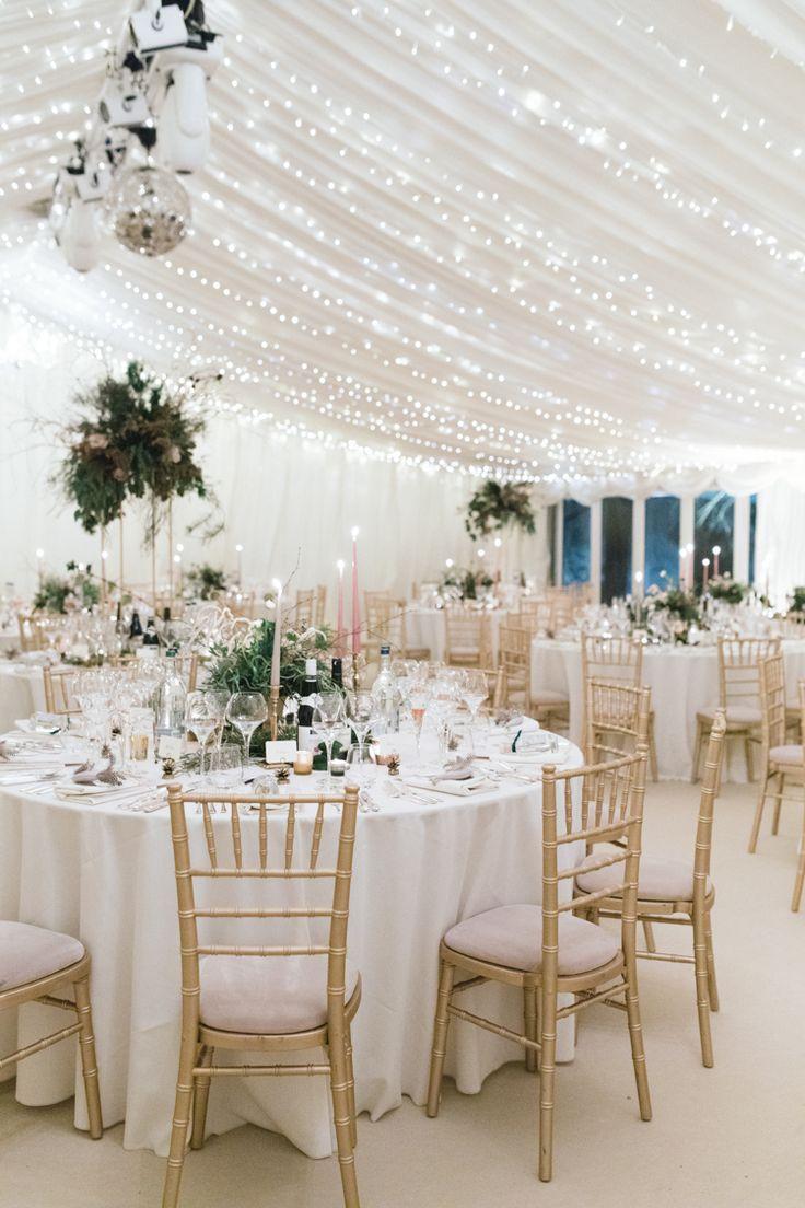 Enchanted Magical Snowy Wedding 352 best Marquee