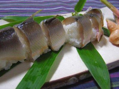 天然鮎の姿寿司 ( レシピ ) - 熊野うまいもん本舗 - Yahoo!ブログ