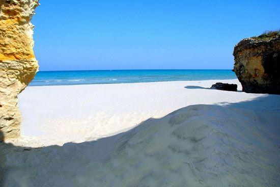 Beach View of Otranto - Lecce, Puglia, Italy