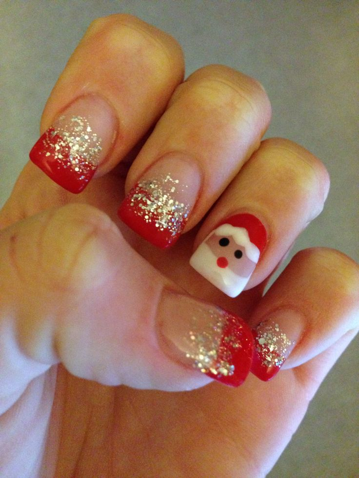 Toenail Christmas Design: 71 Best Images About Nails On Pinterest