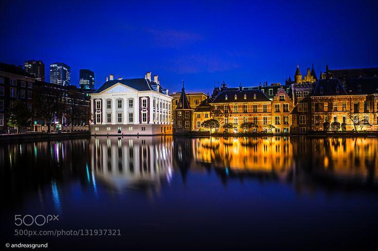 Den Haag - Mauritshuis & Binnenhof by dragrund. Please Like http://fb.me/go4photos and Follow @go4fotos Thank You. :-)