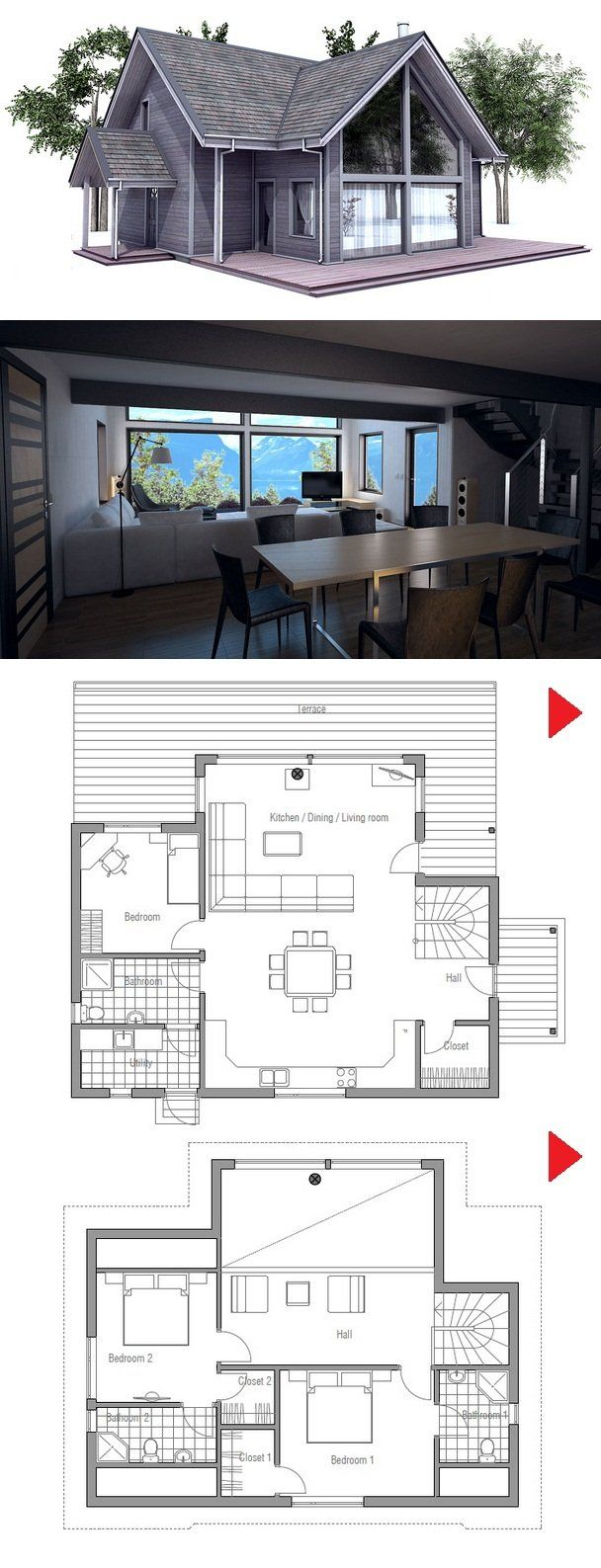 Small house plan from concepthome com