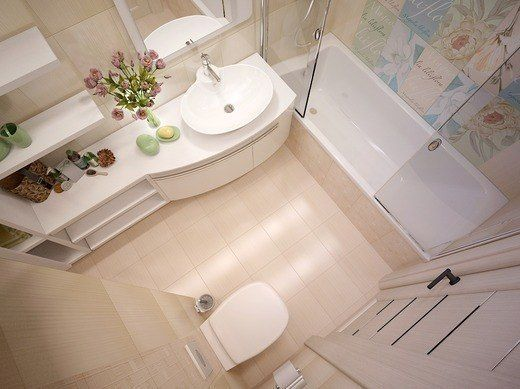 small bathroom color ideas foto 2