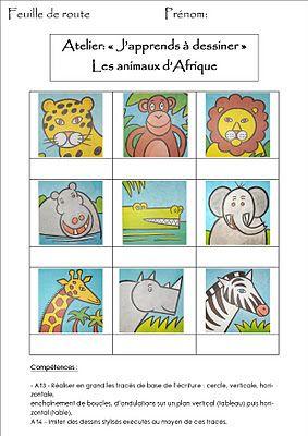 La maternelle de Laurène: J'apprends à dessiner