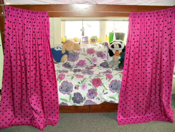 Hanging curtains on your bunk is a fantastic way to have a private place in your dorm, get to sleep even when your roommate is awake, and add some personality to your dorm room! For a full list of tips for college students - check out www.mostlymorgan.com!