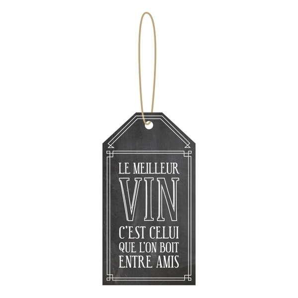 Étiquette à vin - LE MEILLEUR VIN..