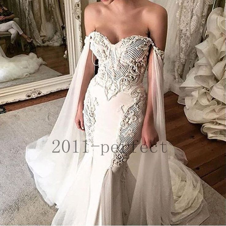 Details about sweetheart lace appliques bridal ball gowns