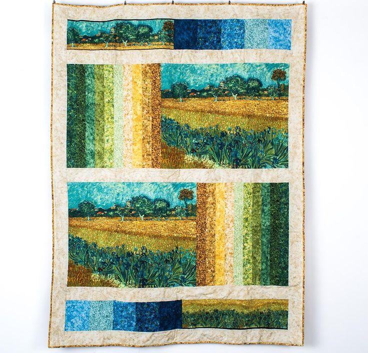 Landscape Quilt Patterns Kits : 1000+ images about Landscape Quilts on Pinterest Pine, Arrow keys and Quilt festival