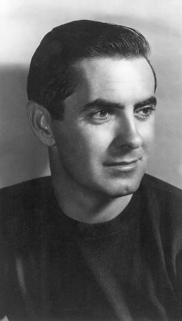 Tyrone Power, 1948. The actor, a favorite of my mom's, was 34 when this photo was taken.