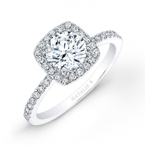 Dear Future Husband- Don't forget these words! Cushion Halo Engagement Ring!