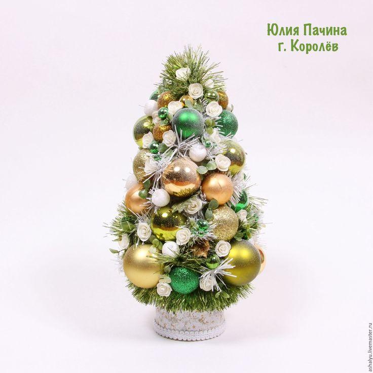 """Купить Ёлочка новогодняя """"Зеленая"""" - зеленый, ёлочка, новогодний подарок, новогодний сувенир, новогоднее украшение"""
