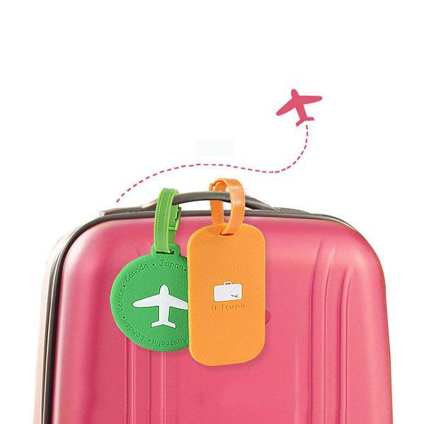 2 Pack Luggage Tags Camping Cruise Luggage Tag For Suitcase Bag Accessories