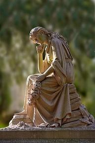 Grave marker, Bonaventure Cemetery, Savannah, Georgia | Jim Zuckerman