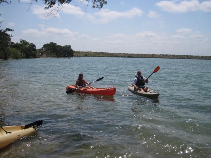 #Having fun kayaking at Boerne Lake! Like, Repin, Share, Follow Me! Thanks!
