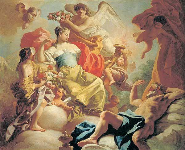 Aurora and Tithonus, Francesco de Mura