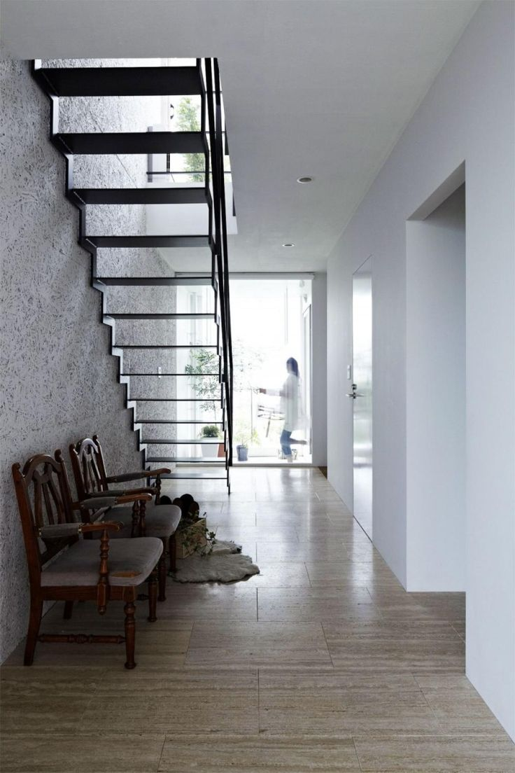 Narrow House With Glass Staircase Peaceful Modern Family Home with Simple Exterior Design Home design