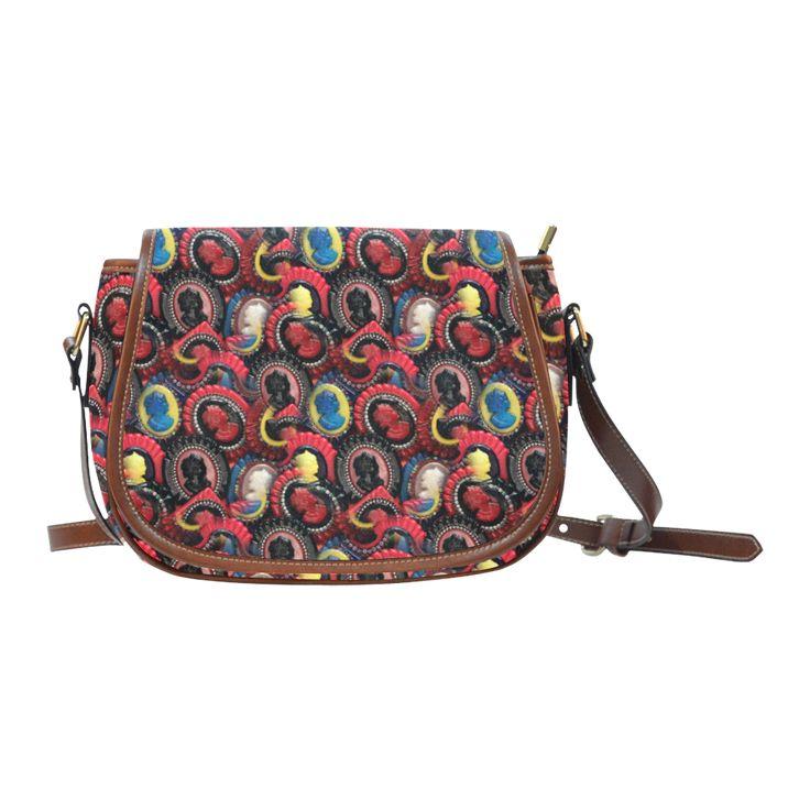 Cameo Vintage Saddle Bag/Small (Model 1649)
