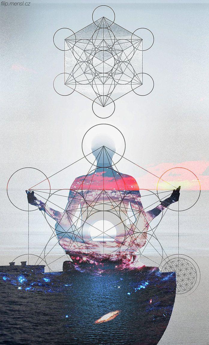 Metatron cube by Flincus