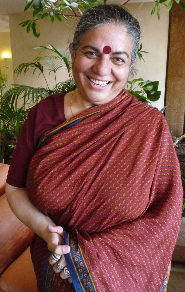 dr vandana shiva I first became aware of dr vandana shiva's work through the anti-globalization  movement in the 1990s and the all documentaries produced at.