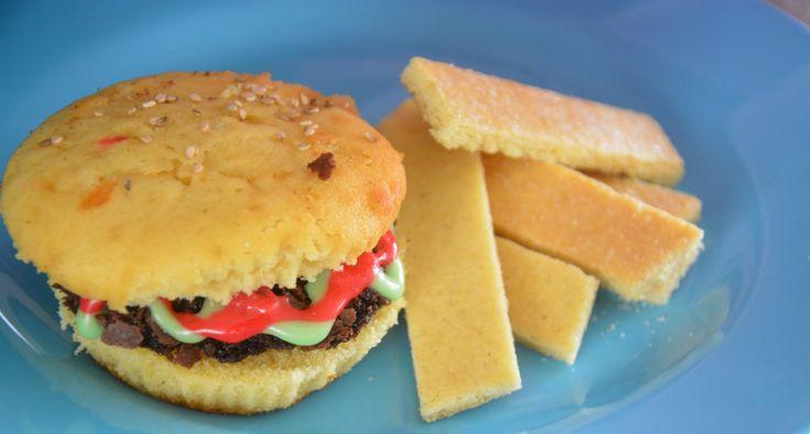 Du vil ikke tro hva denne burgeren er laget av - Idebank for småbarnsforeldreIdebank for småbarnsforeldre