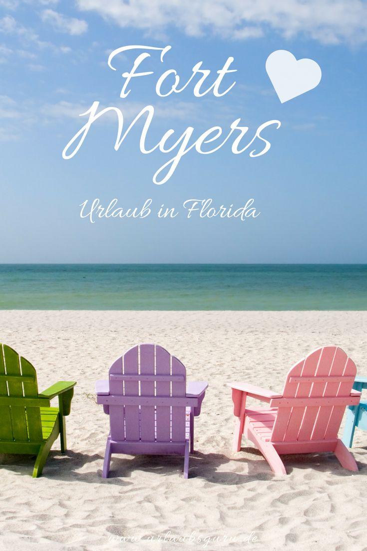 """Der Sunshine State Florida ist vielfältig und voller Lebensfreude. Bunte Strandhäuser, von Palmen gesäumte Boulevards, endlose Strände und das heiße Nachtleben in Miami – das ist das typische Bild, das wohl jeder Urlauber von Florida im Kopf hat. Doch wisst ihr auch, wo man am besten entspannen und die vielseitige Natur genießen kann, ohne auf eben dieses """"typische Florida"""" verzichten zu müssen? Ich stelle euch heute Fort Myers Beach vor. Ein Paradies in den USA!"""